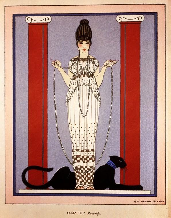 Georgs Barbier voor Cartier, 1914. Foto met dank aan Wikimedia Commons, publiek domein (CC0 1.0)