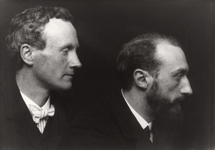 Charles Haslewood Shannon en Charles de Sousy Ricketts, 1903. Foto met dank aan Wikimedia Commons, publiek domein (CC0 1.0)