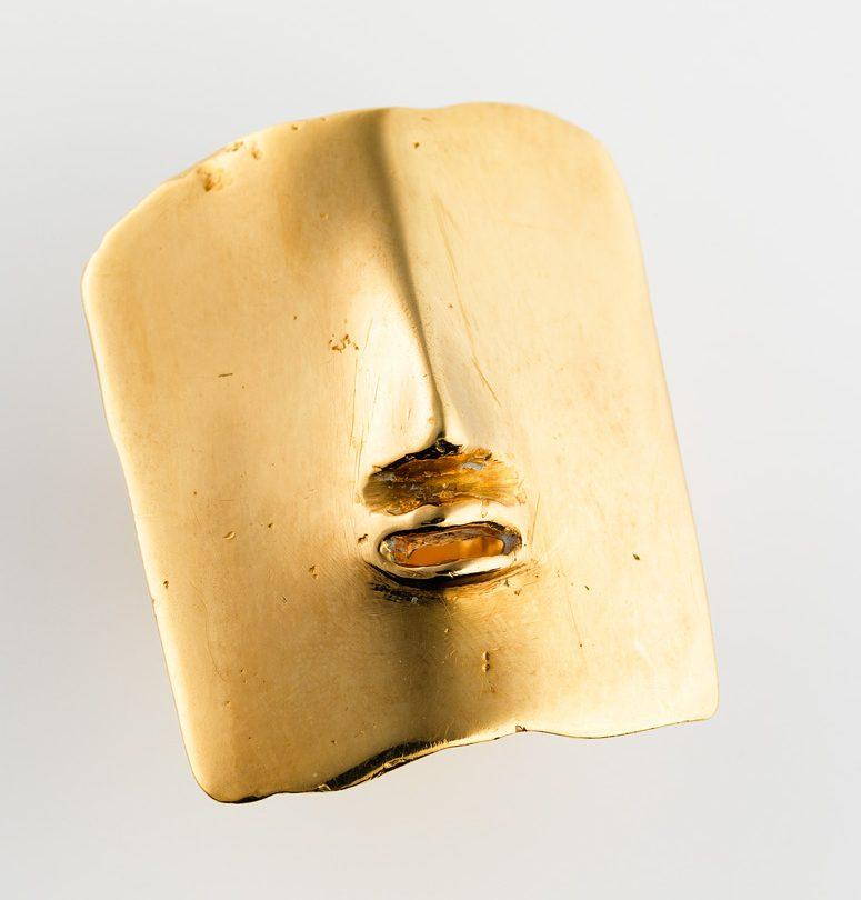 Tone Vigeland, ring, 1960-1975. Collectie Daalder. Foto met dank aan Art Gallery of South Australia, Grant Hancock©