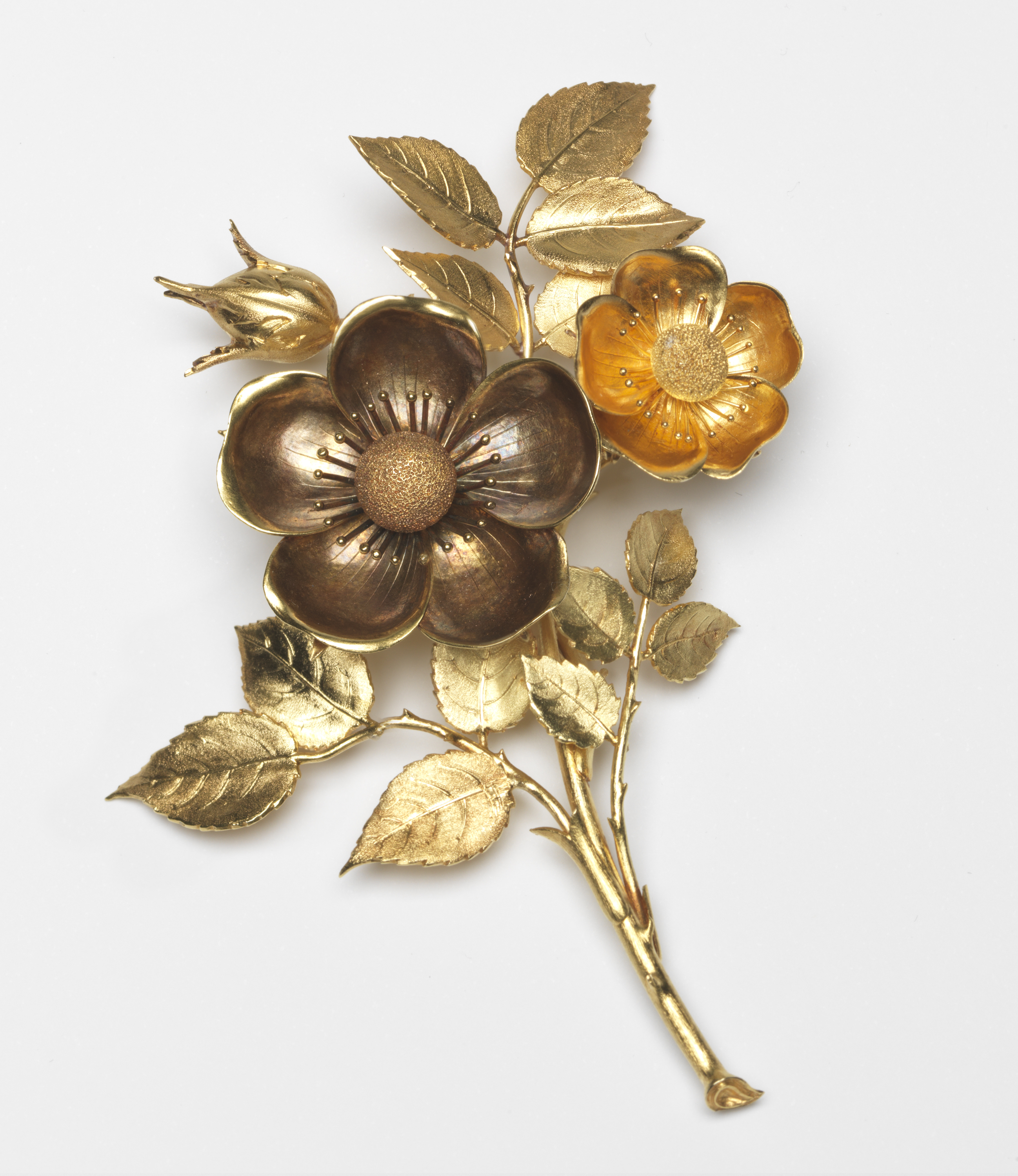 Hunt and Roskell, broche, circa 1850. Foto met dank aan The Fitzwilliam Museum©