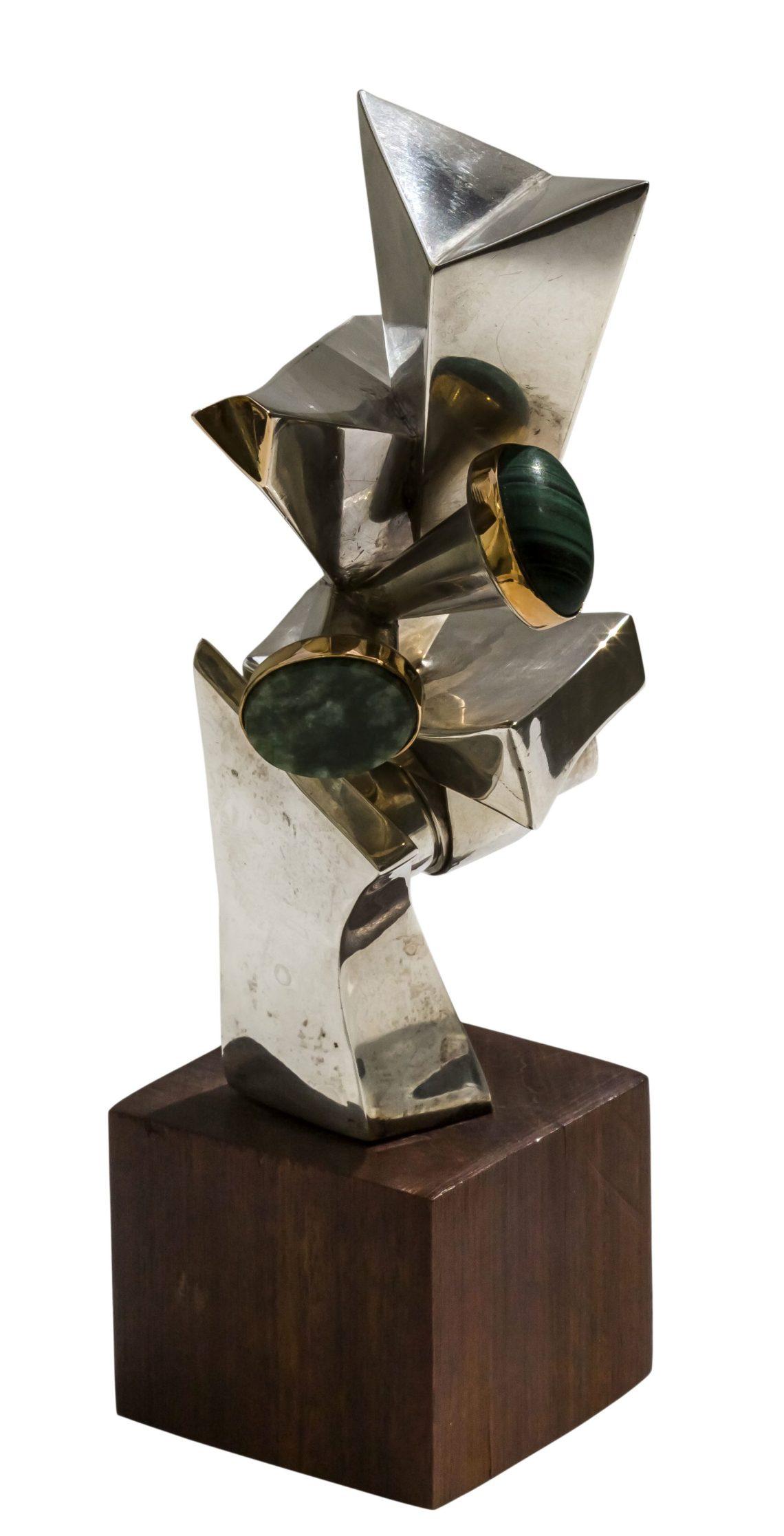 Manette van Hamel, sculptuur met ring, 1970. Collectie Ida Boelen-van Gelder. Fotografie Aldo Smit©