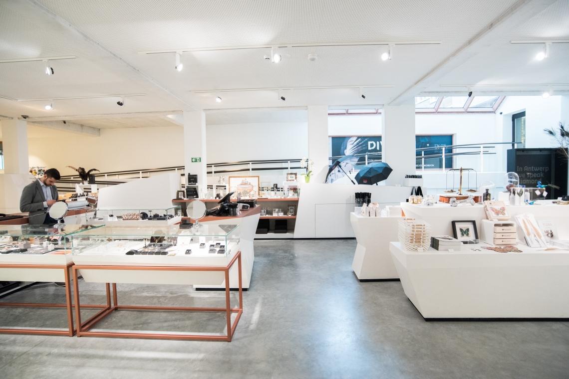 Museumwinkel. Foto met dank aan DIVA©
