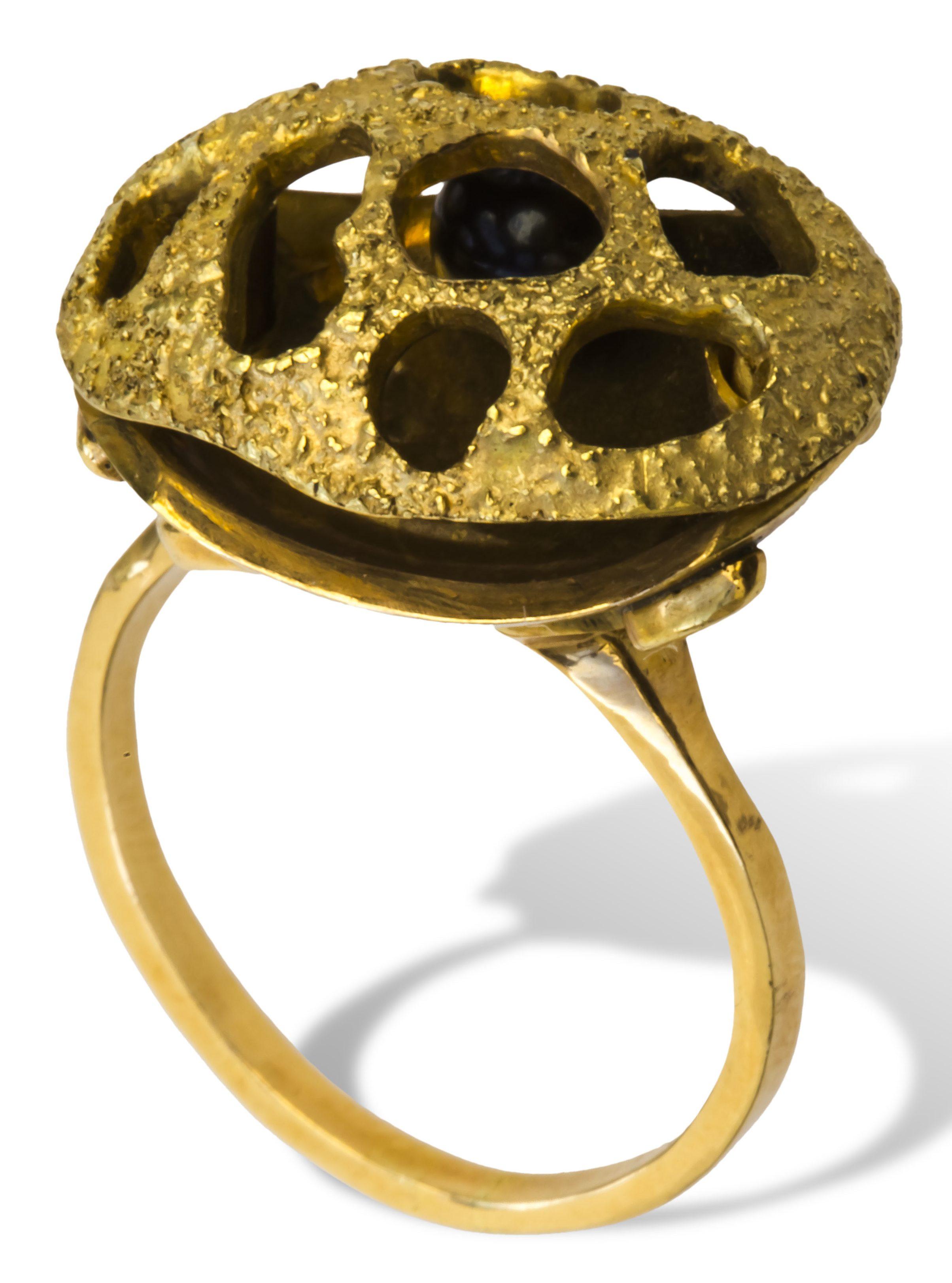 Whitakers, ring, 1969. Collectie Ida Boelen-van Gelder. Fotografie Aldo Smit©