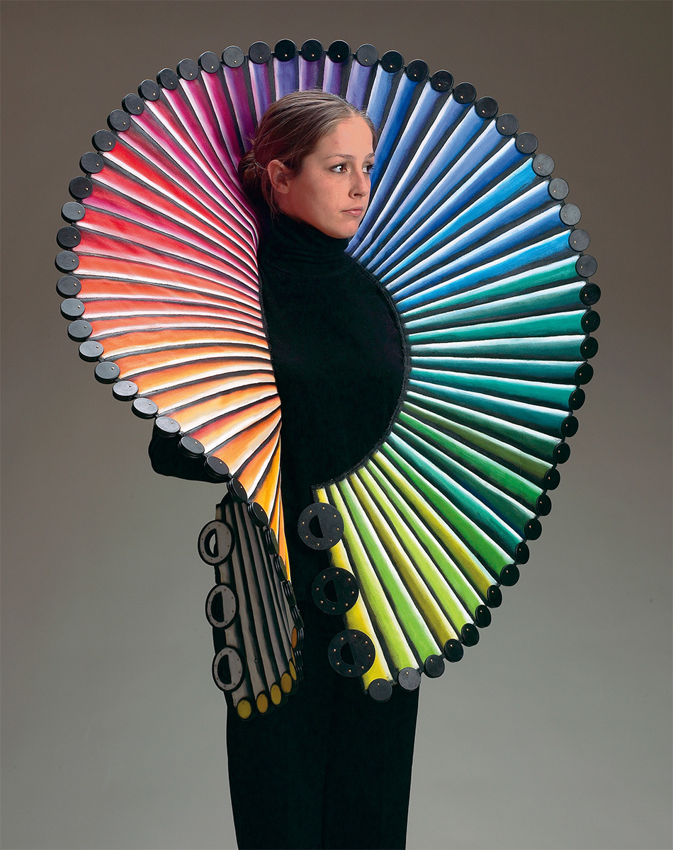 Marjorie Schick, Spiraling Over the Line, 2008. Foto met dank aan Katonah Art Museum©