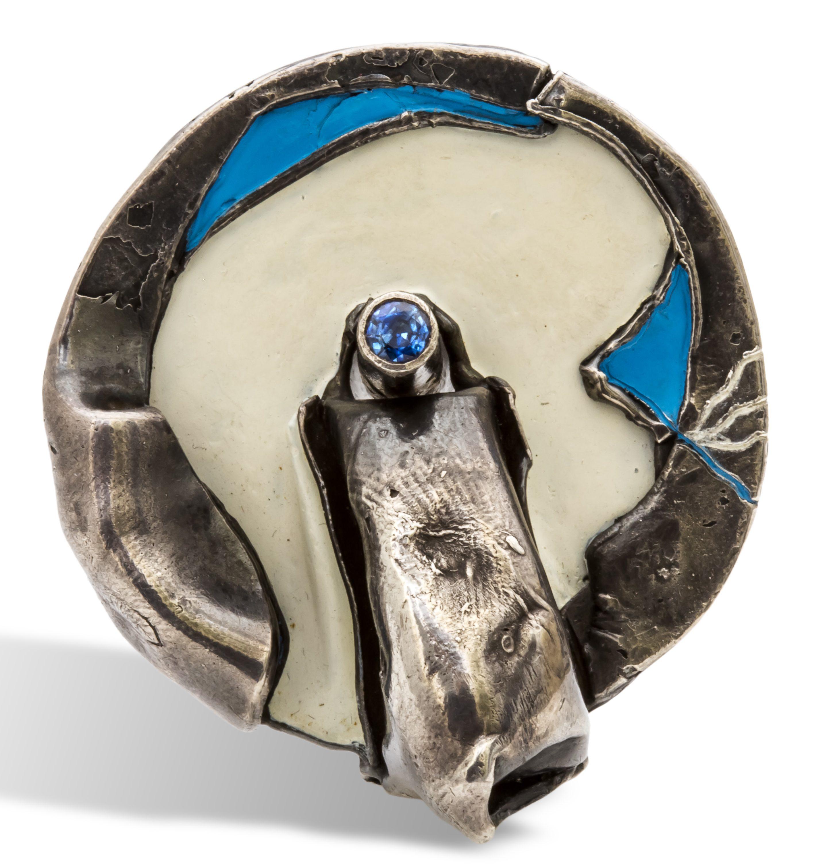 Georg Seibert, ring, 1969. Collectie Ida Boelen-van Gelder. Fotografie Aldo Smit©