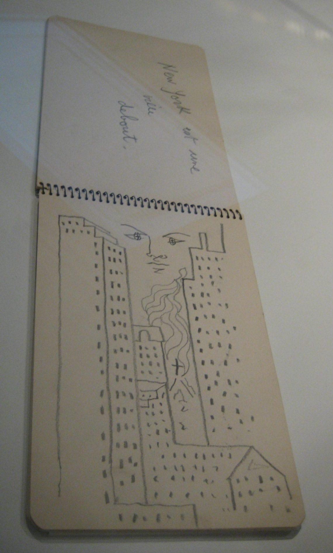 Jean Cocteau, schetsboek. Foto Esther Doornbusch, 2 december 2018, CC BY 4.0