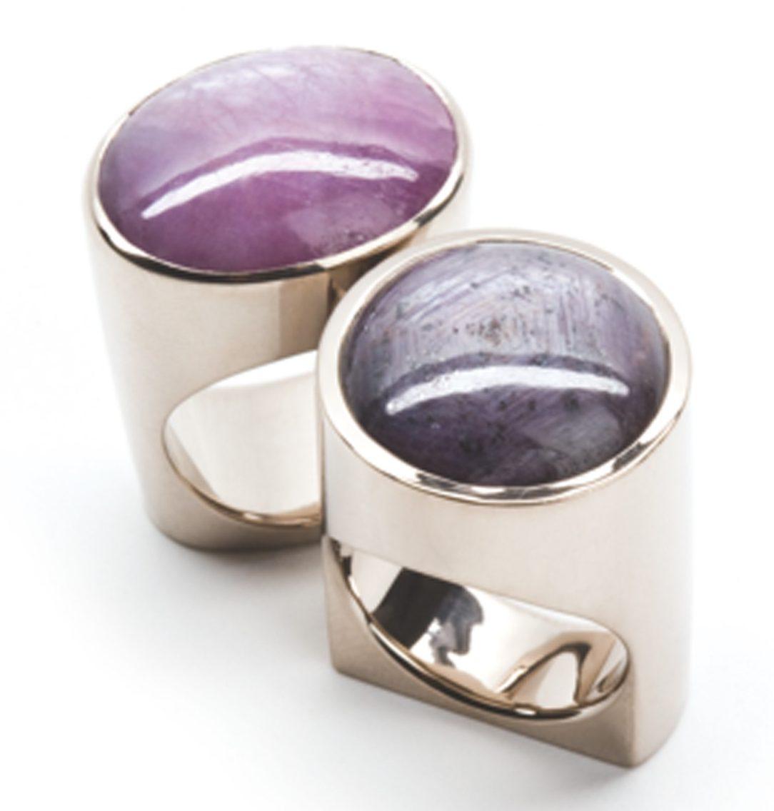 Jean Grisoni, ringen. Foto met dank aan Galerie Elsa Vanier©