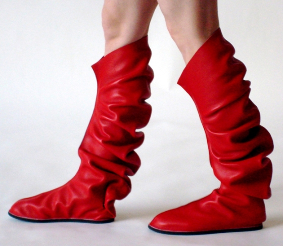 Maria Blaisse, C-shoes, 2008. Foto met dank aan Maria Blaisse©