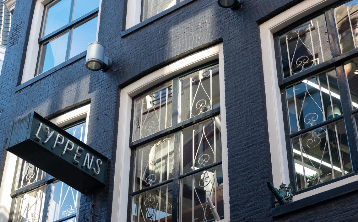 Lyppens, Sieradenkwartier Amsterdam, februari 2019. Foto met dank aan M.O.©