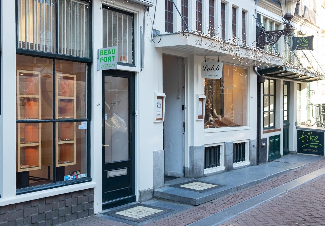 Beaufort en Laloli, Sieradenkwartier Amsterdam, februari 2019. Foto met dank aan M.O.©