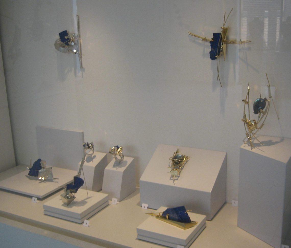 Anneke Schat in Museum Van der Togt, 24 februari 2019. Foto Esther Doornbusch©