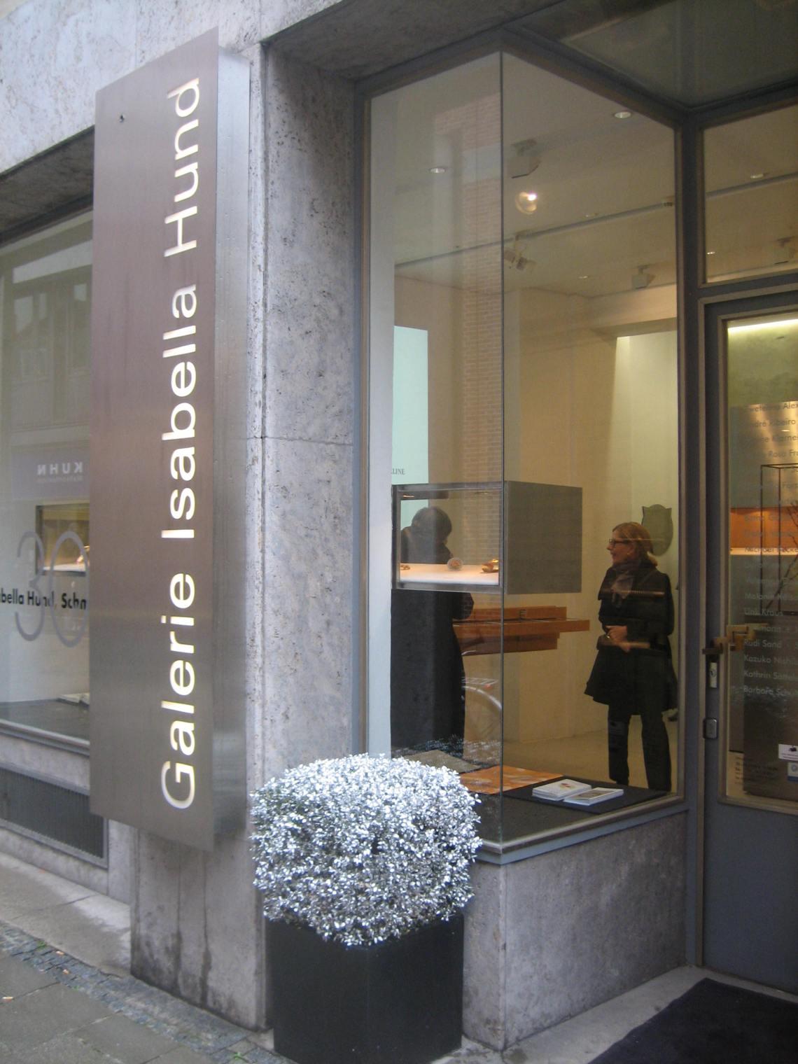 Galerie Isabella Hund. Foto Esther Doornbusch, maart 2019©