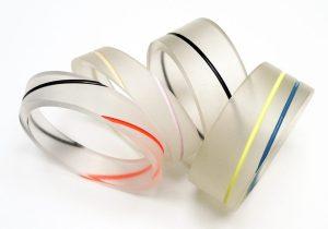 Bel Design, armbanden, circa 1985. Foto met dank aan Birgit Laken©