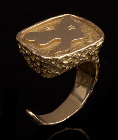 Georges Braque, Iophassa, ring, 1963. Foto met dank aan Didier Ltd©