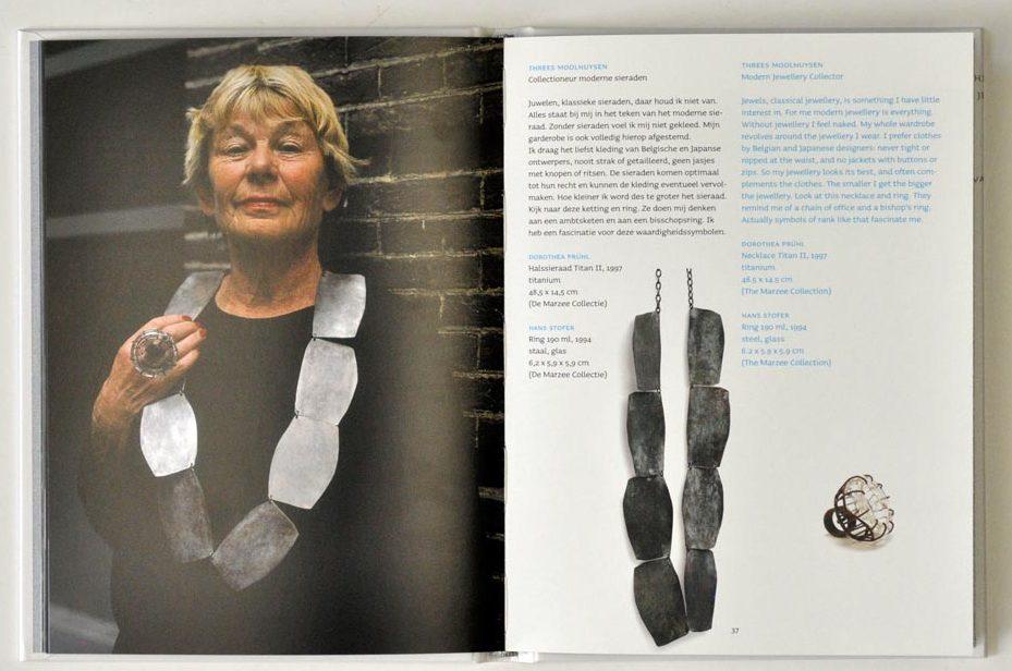 Sieraden, de keuze van Schiedam, Threes Moolhuysen-Coenders. Foto met dank aan Galerie Marzee©