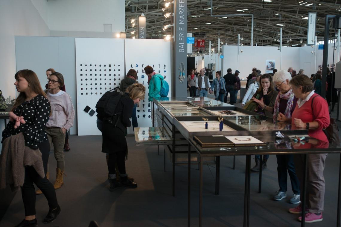 Galerie Marzee op Frame, München, 2018. Foto met dank aan Galerie Marzee/Michiel Heffels©