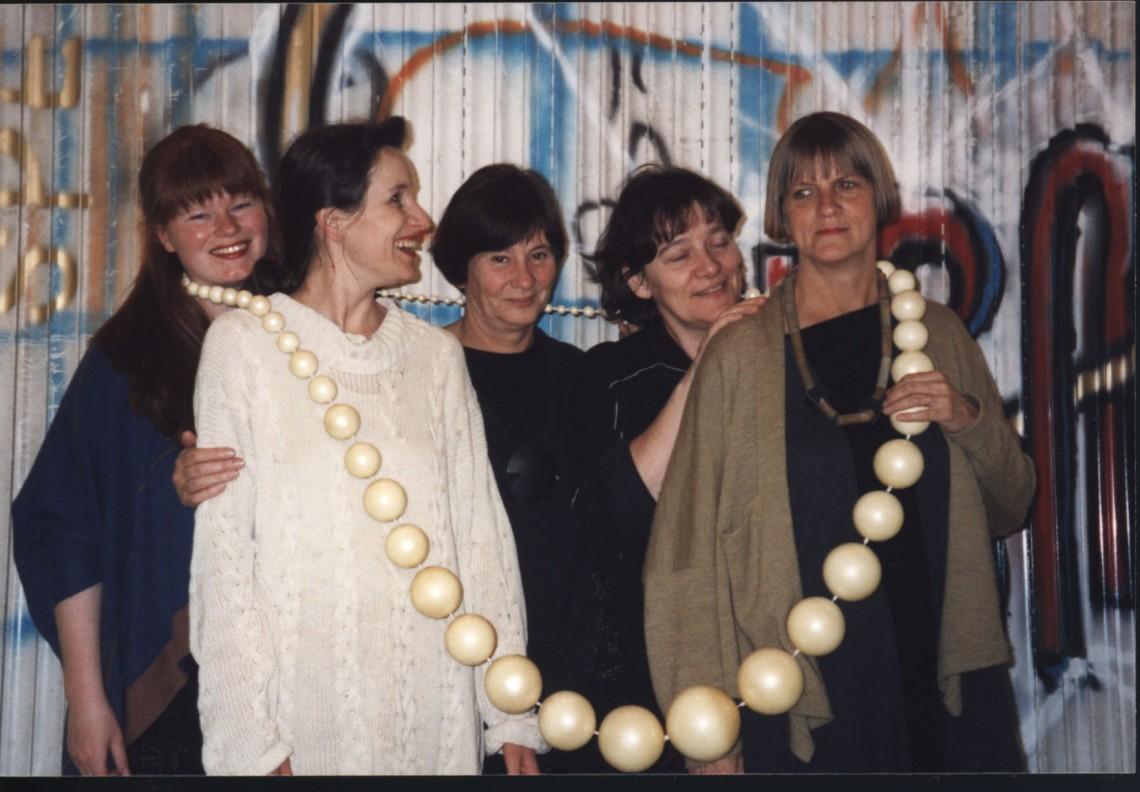 Medewerkers Galerie Marzee, 1995. Foto met dank aan Galerie Marzee©