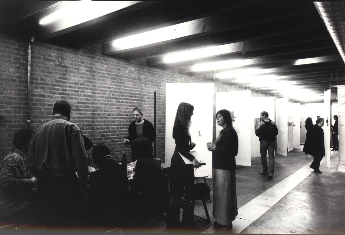 Feldversuch I, Galerie Marzee, 1998. Foto met dank aan Galerie Marzee©