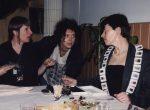 Voorbereidingen op Sieraden, de keuze van Arnhem, Marta de Wit, Ans Dekkers en Hadewych Martens, 1999. Foto met dank aan Galerie Marzee©