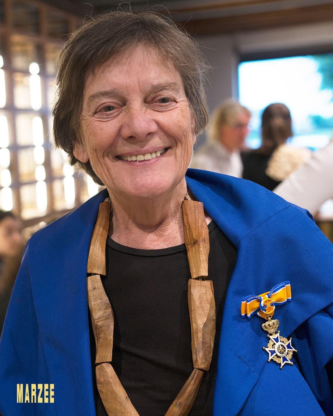 Marie-José van den Hout. PRESENT - 40 years of Galerie Marzee, 9 juni 2019. Foto met dank aan Galerie Marzee©