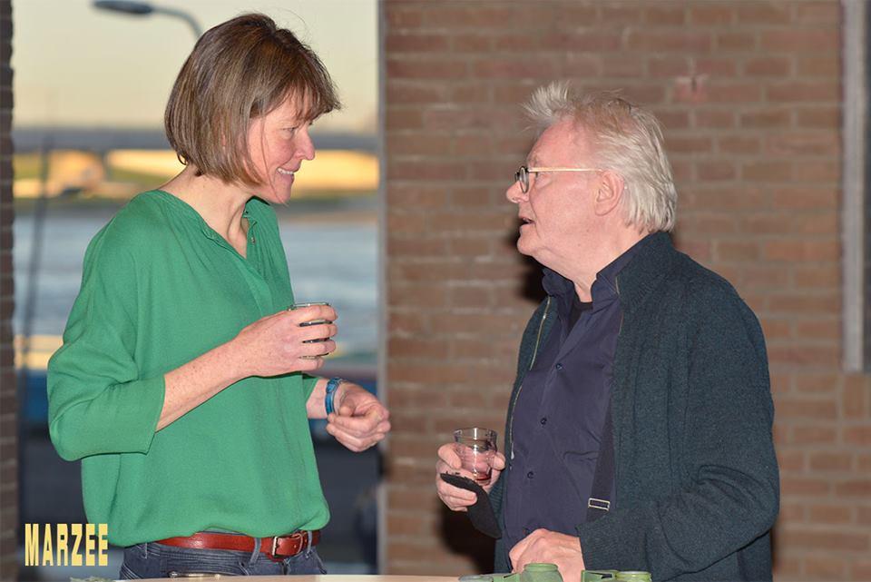 Vera Siemund en Robert Smit in Galerie Marzee, 2019. Foto met dank aan Galerie Marzee©