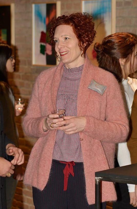 Nicole Beck in Galerie Marzee, 2019. Foto met dank aan Galerie Marzee©