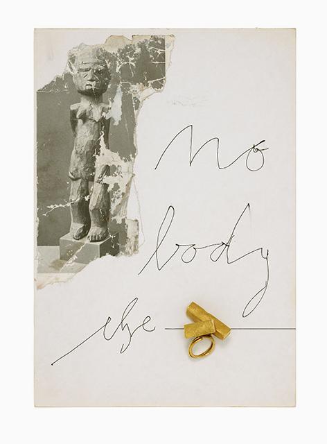 Manfred Bischoff, Nobody else, ring, 2000. Foto met dank aan manfred bischoff estate, Eva Jünger©