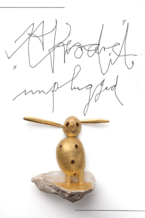 Manfred Bischoff, Afrodite unplugged, broche, 2014. Collectie Rotasa Collection Trust. Foto met dank aan manfred bischoff estate, Federico Cavicchioli©