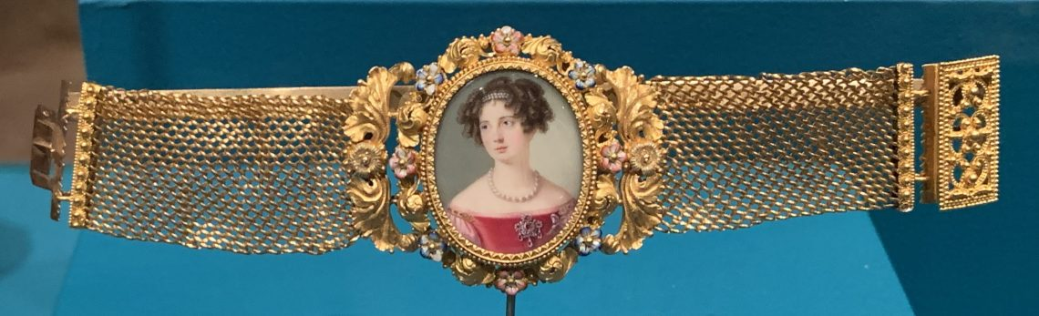 Juwelen! Hermitage Amsterdam, 2019. Armband, circa 1850. Foto met dank aan SAF, Astrid Berens©