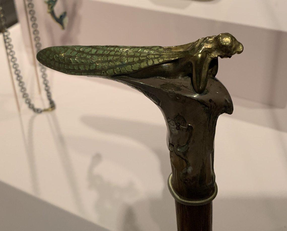 Juwelen! Hermitage Amsterdam, 2019. René Lalique, wandelstokknop, circa 1905. Foto met dank aan SAF, Astrid Berens©