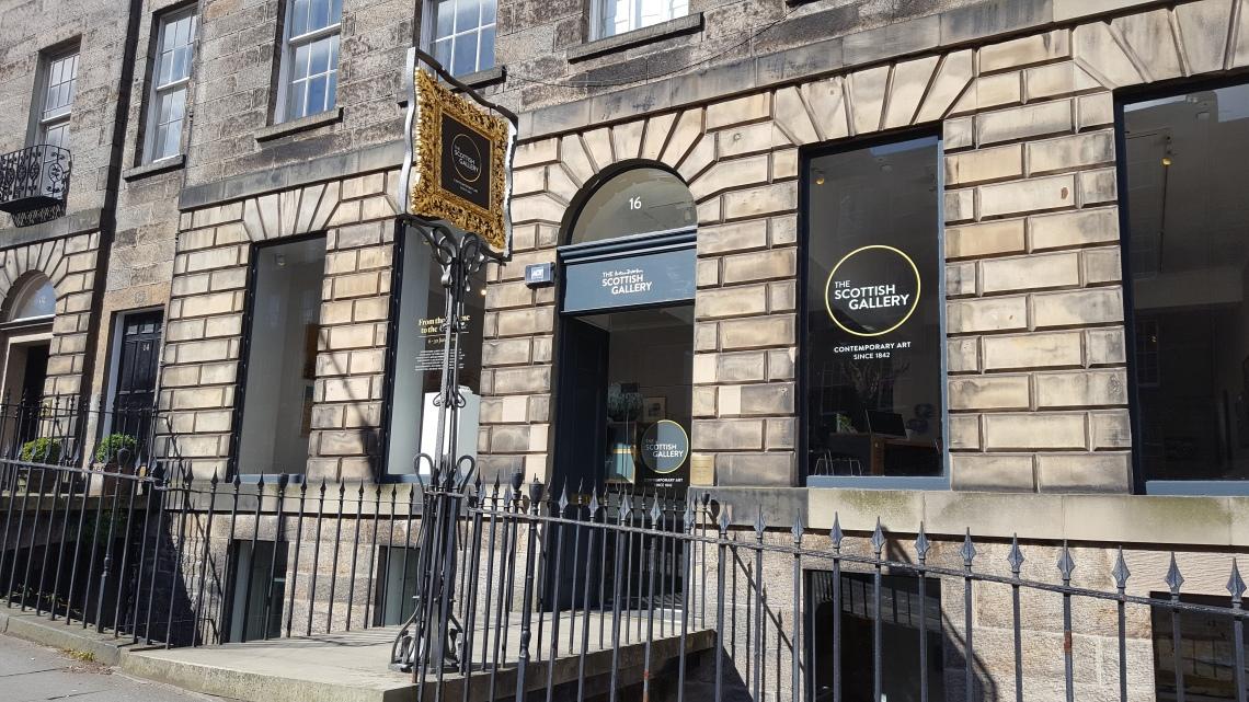 The Scottish Gallery. Foto met dank aan The Scottish Gallery©