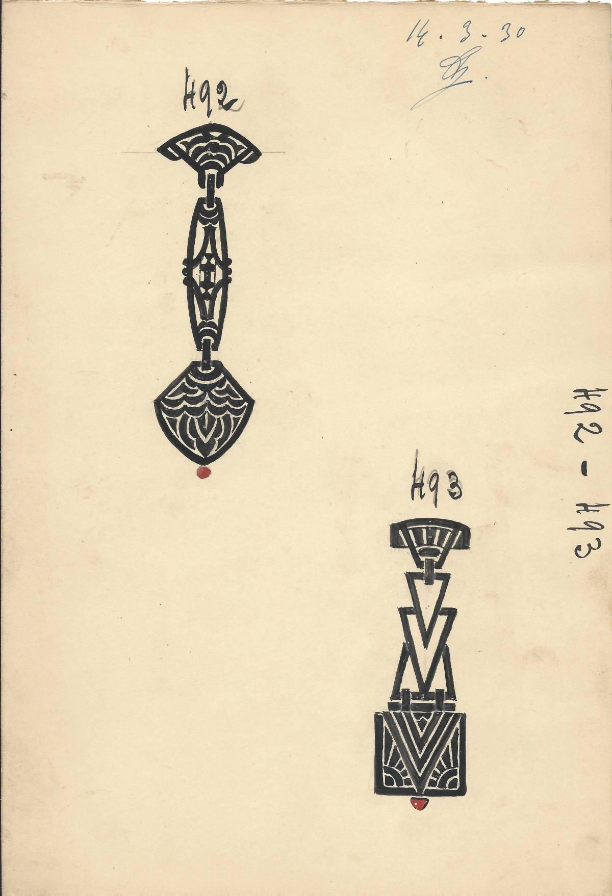 Raymond Pivert, tekening, 1930. Foto met dank aan Grafische Sammlung Stern©