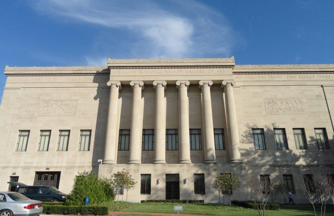 The Nelson-Atkins Museum of Art. Foto met dank aan Wikimedia Commons, Daderot, CC0