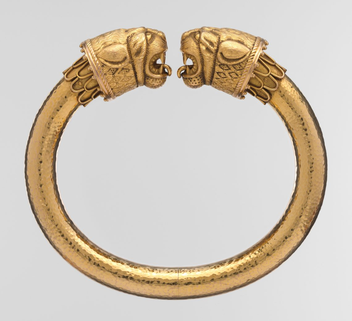 Tiffany & Co.,armband, circa 1878. Collectie Metropolitan Museum of Art, 2018.383. Foto met dank aan Metropolitan Museum of Art©