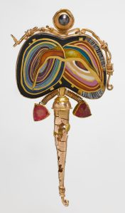 William Harper, Fabergés Twins, broche, 1993. Collectie Metropolitan Museum of Art, 2007.384.21. Foto met dank aan Metropolitan Museum of Art©