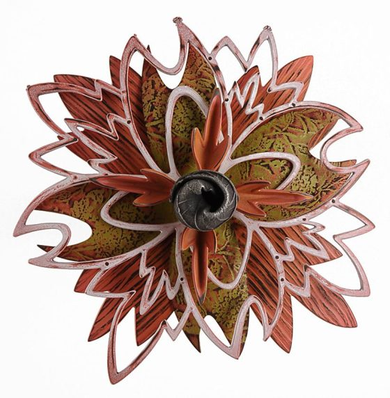 Linda Threadgill, Rosette Brooch 9-15, broche, 2015. Foto met dank aan Linda Threadgill©