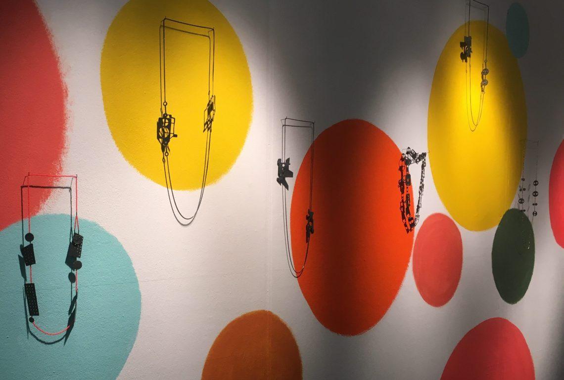 Réka Fekete in Galerie Ra, 2019. Foto met dank aan Birgit Laken©