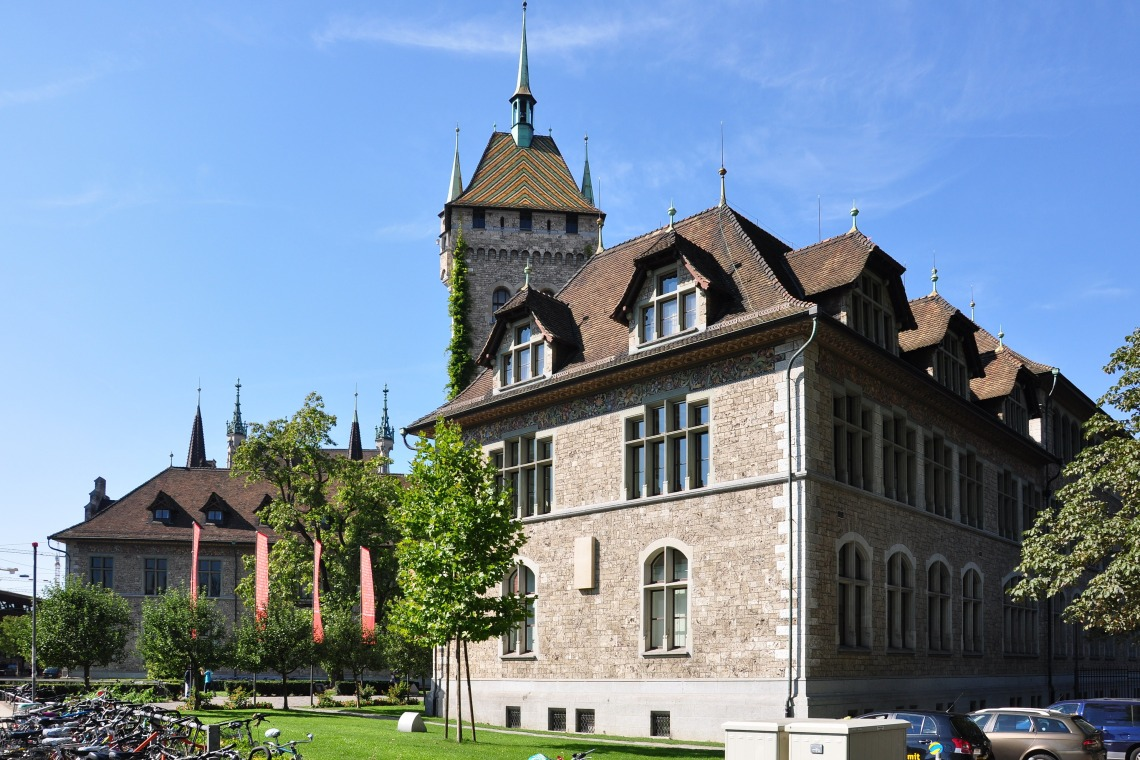 Schweizerisches Nationalmuseum, 2010. Foto met dank aan Wikimedia Commons, Roland zh, CC BY-SA 3.0