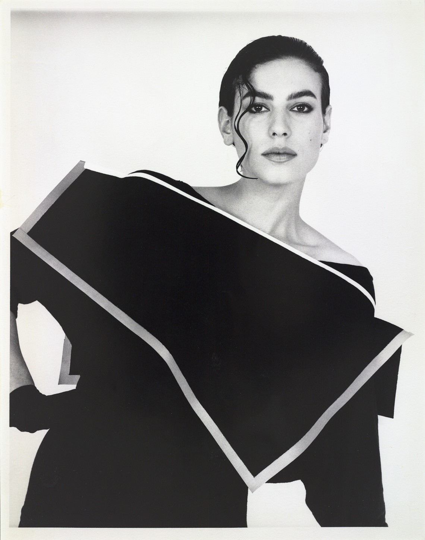 Claudie Berbée en Joke Brakman, Over-all 9b, Grote kraag, 1984, textiel. Foto Anna Beeke, 1984