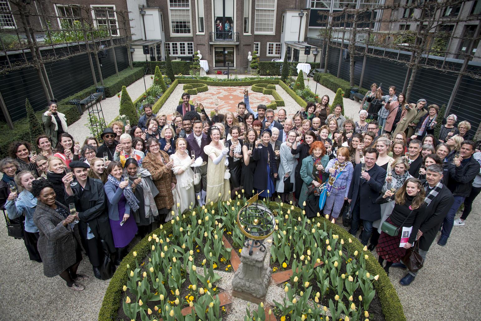 Modemuzen, Amsterdam, 22 april 2015. Foto met dank aan ModeMuze, Co de Kruijf/HH©